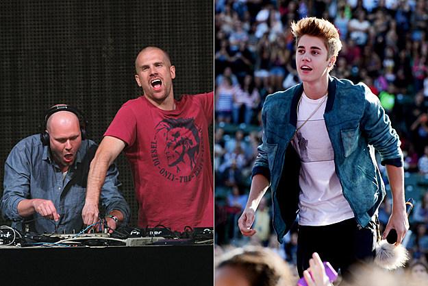 Dada Life, Justin Bieber