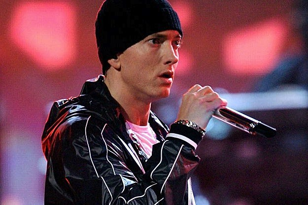 eminem is back in the studio �southpaw� movie on hold