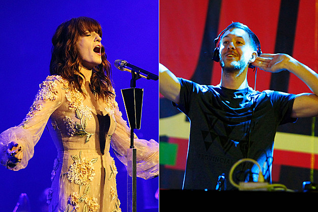 Florence Welch, Calvin Harris