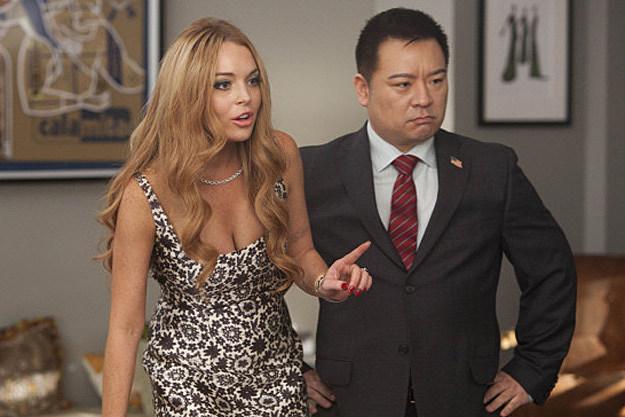 Lindsay Lohan and Rex Lee