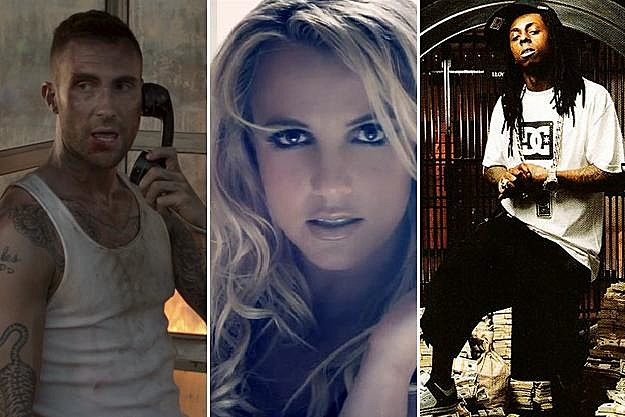 Adam Levine, Britney Spears, Lil Wayne