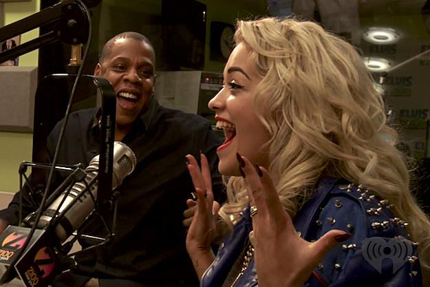 Jay-Z Rita Ora