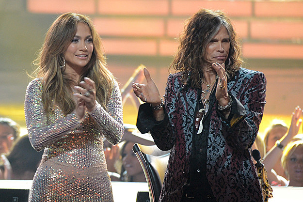 Jennifer Lopez, Steven Tyler