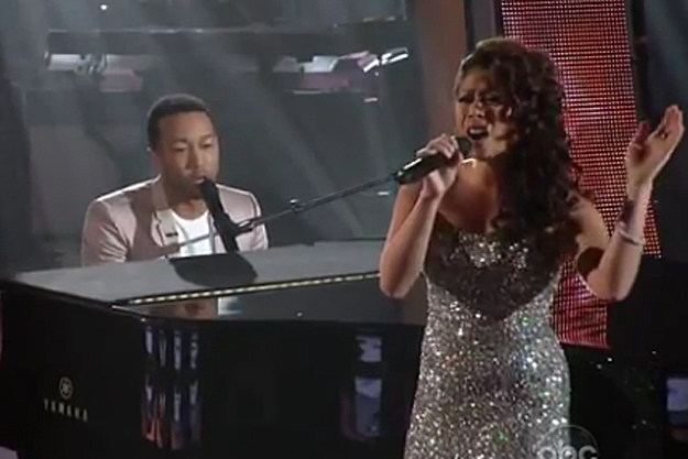 John Legend Meleana Brown