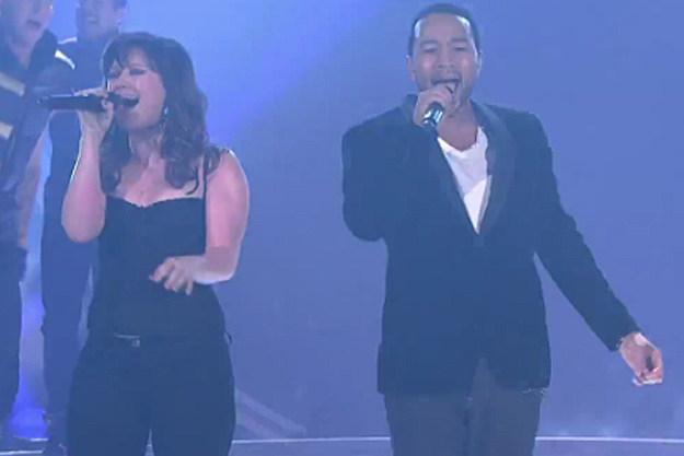 Kelly Clarkson John Legend