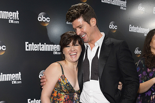 Kelly Clarkson Robin Thicke