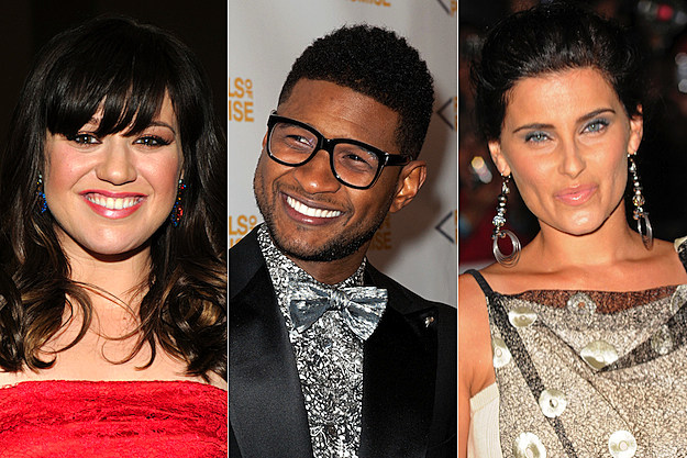 Kelly Clarkson Usher Nelly Furtado