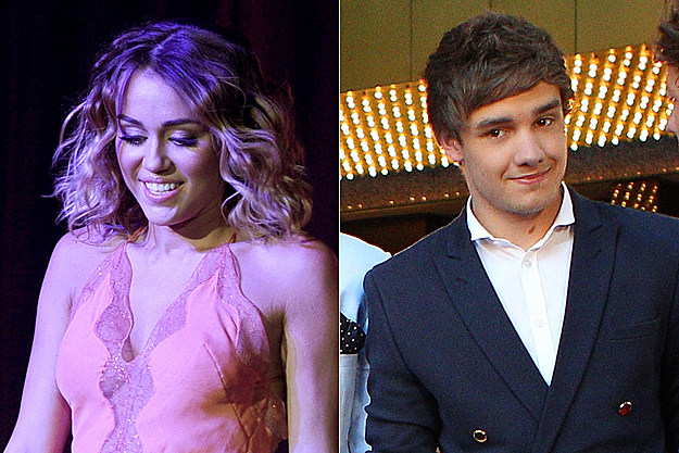 Miley Cyrus, Liam Payne of One Direction