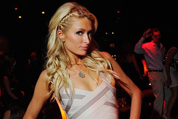 Paris Hilton David Becker, Getty Images