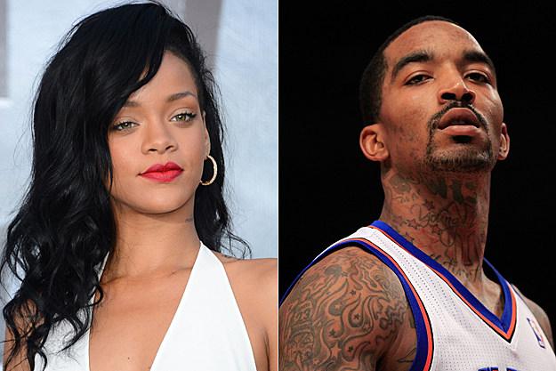 Rihanna, JR Smith