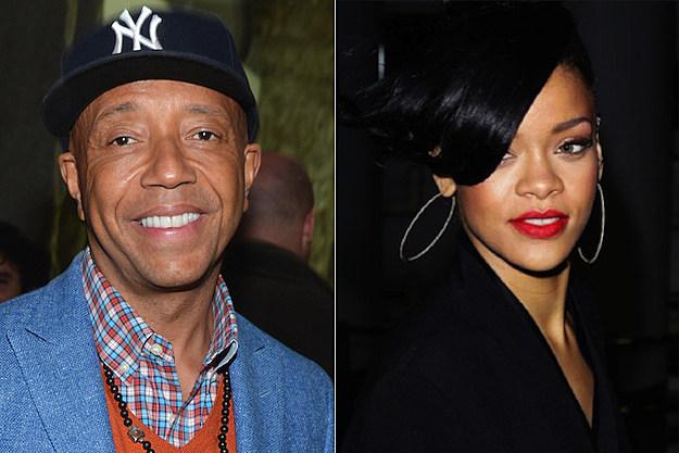Russell Simmons Rihanna