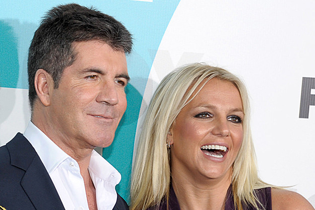 Simon Cowell Britney Spears