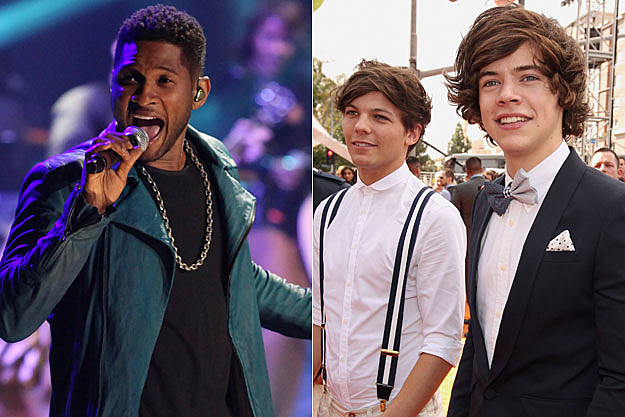 Usher One Direction