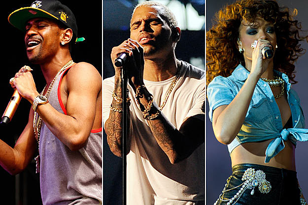 Big Sean Chris Brown Rihanna
