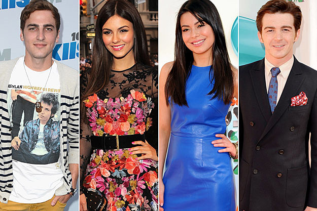 Big Time Rush's Kendall Schmidt Victoria Justice Miranda Cosgrove Drake Bell