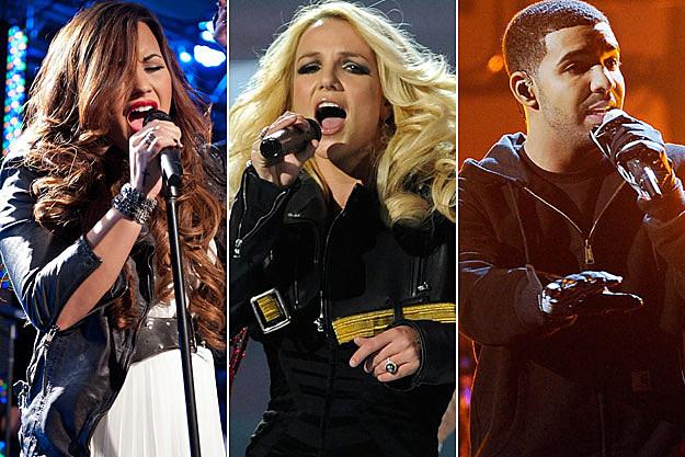Demi Lovato Britney Spears Drake