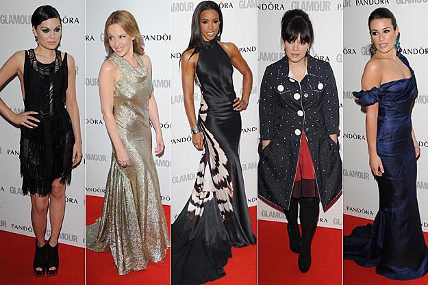 Jessie J Kylie Minogue Kelly Rowland Lily Allen Lea Michele