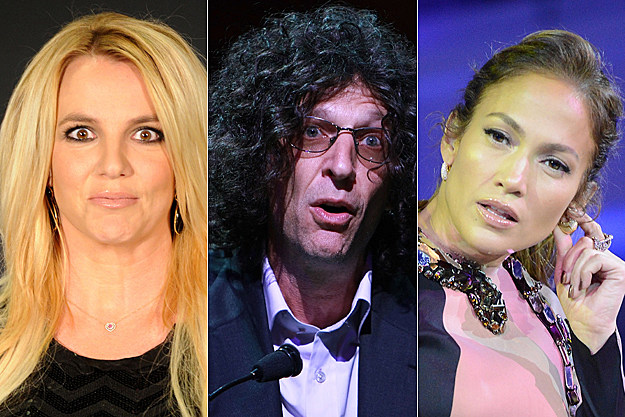 Britney Spears, Howard Stern, Jennifer Lopez