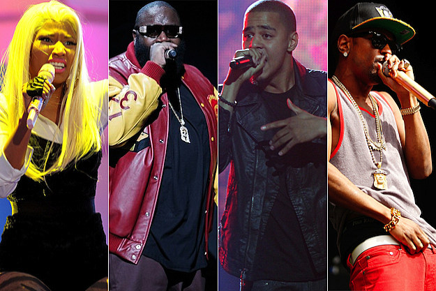 Nicki Minaj Rick Ross J. Cole Big Sean