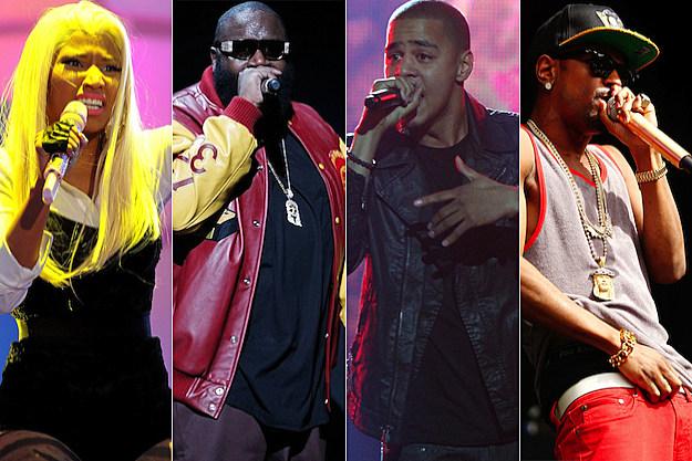 Nicki Minaj Rick Ross J. Cole Big Sean