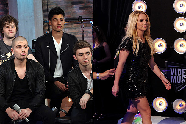 The Wanted Britney Spears
