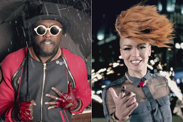 will.i.am, Eva Simons