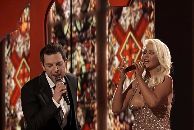 Chris Mann Christina Aguilera