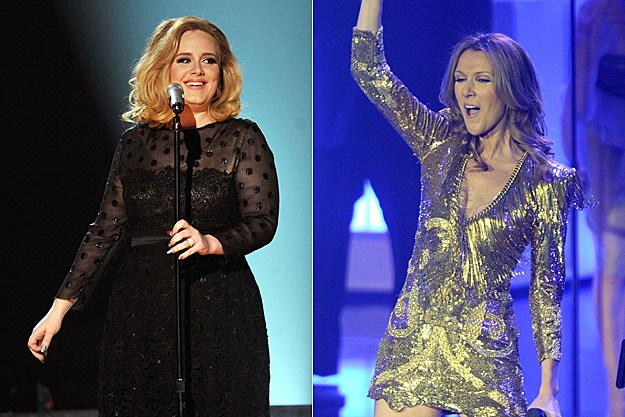 Adele Celine Dion