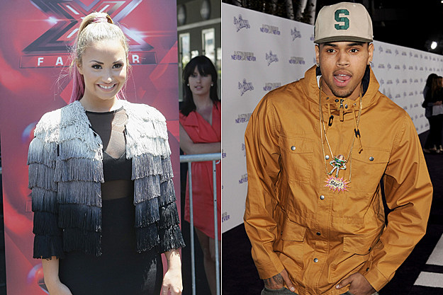 Demi Lovato Chris Brown