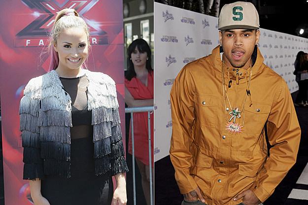 Demi Lovato Chris Brown