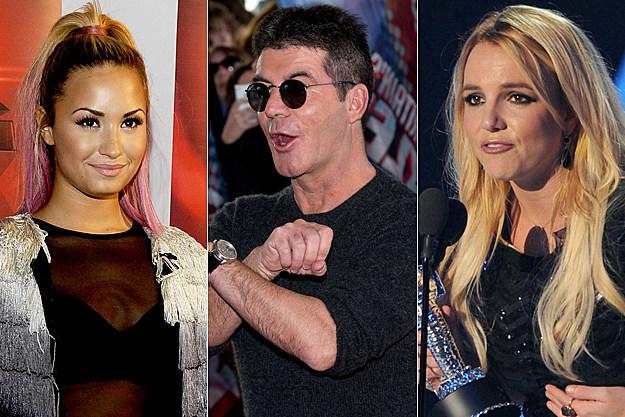Demi Lovato Simon Cowell Britney Spears