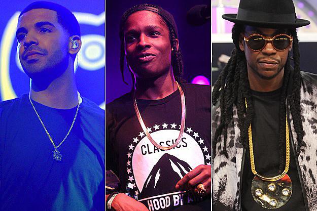 Drake ASAP Rocky 2 Chainz 2