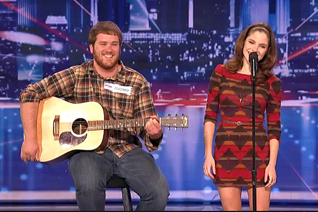 Eric and Olivia, America's Got Talent
