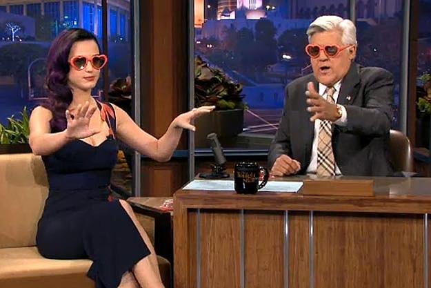 KatyJayTonightShowGlasses