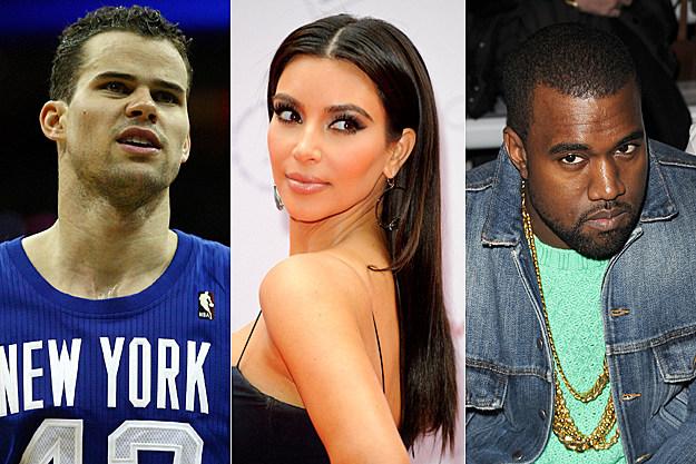 Kris Humphries, Kim Kardashian, Kanye West
