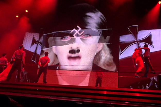 Madonna as Hitler