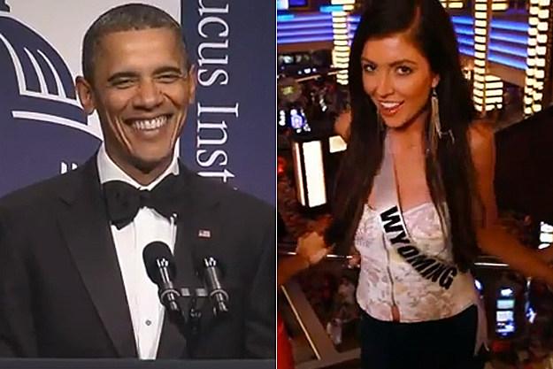 Obama Miss USA