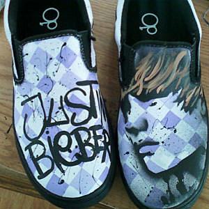 Painted Slip-Ons