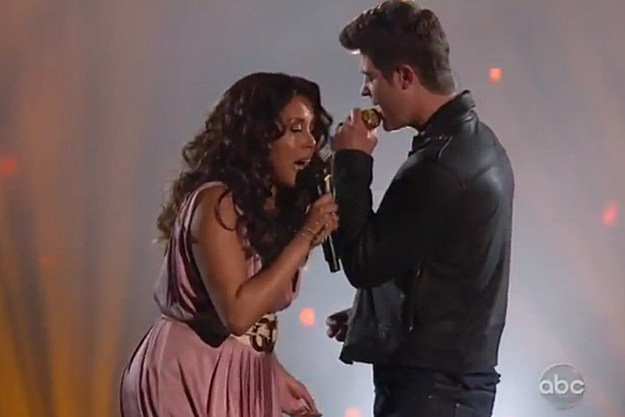 Alexis Foster + Robin Thicke
