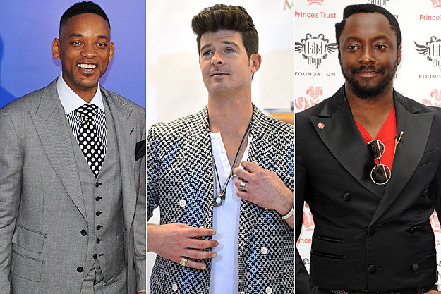 Will Smith Robin Thicke will.i.am