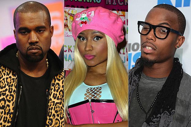 Kanye West Nicki Minaj B.o.B