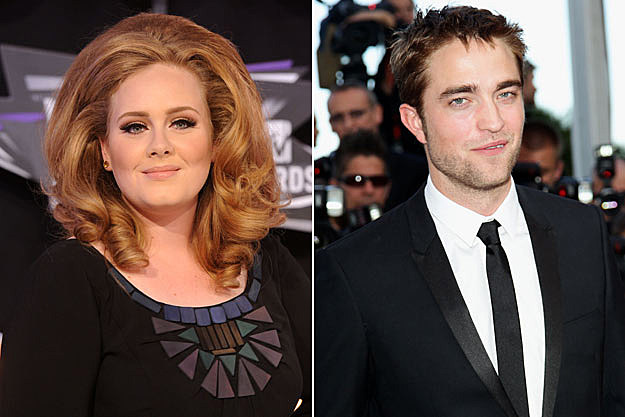 Adele, Rob Pattinson