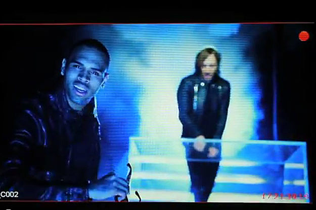 Chris Brown, David Guetta