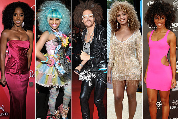 Kelly Rowland Nicki Minaj Redfoo Beyonce Wynter Gordon
