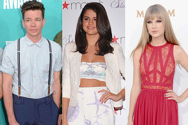 Nate Ruess Selena Gomez Taylor Swift