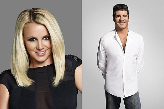 Britney Spears Simon Cowell