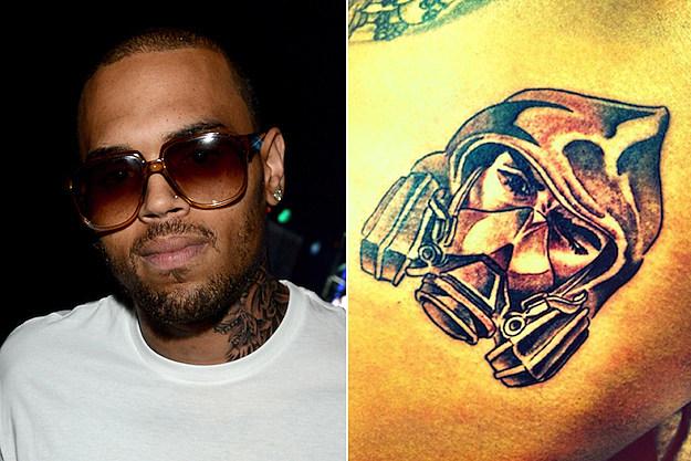 Chris Brown Bandit Tat