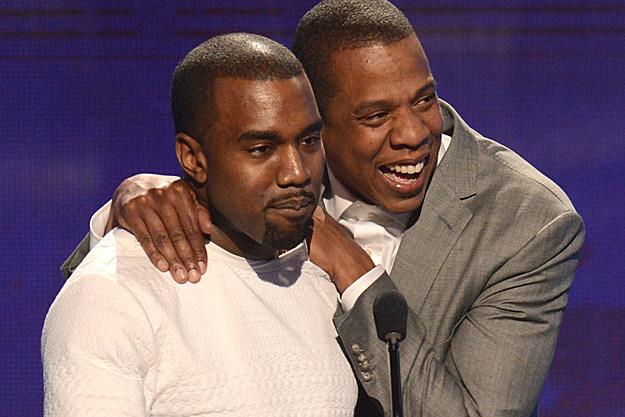 Kanye Jay-Z BET
