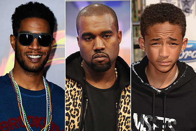 Kid Cudi Kanye West Jaden Smith