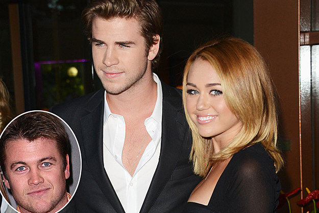 Luke Liam Hemsworth Miley Cyrus